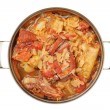 Stuffed cabbage with pork — Stock Photo