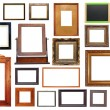 Large collection of frames — Stock Photo #24751017