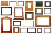 Large collection of frames — Stock Photo