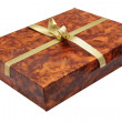 Carton present box — Stock Photo