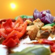 Romanian traditional appetizer — Foto Stock