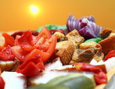 Romanian traditional appetizer — Stock Photo