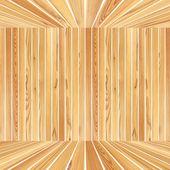 Structure en bois abstraite — Photo