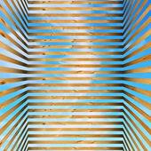 Cage en bois dans le ciel — Photo