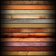 Collection of vintage wooden boards — Stock Photo