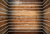 Vintage abstract wooden structure — Stock Photo