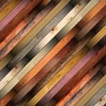 Wooden tiles mounted on the floor — Stock Photo