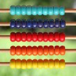 Abacus in nature — Stock Photo