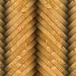 Closeup of spruce floor tiles — Stock Photo