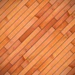 Diagonal mount of wood parquet — Stock Photo
