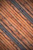 Closeup of wood floor design — Stock Photo