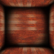 Abstract wood finished interior — Stock Photo