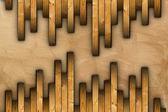 Installing floor wooden tiles — 图库照片