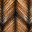 Mahogany tiles on wooden floor texture — Stock Photo