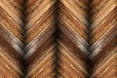 Mahogany tiles on wooden floor texture — Stock Photo