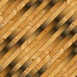New wooden  planks for flooring — Stock Photo