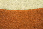 Messy and dirty old carpet — Stock Photo