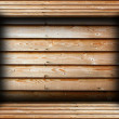 Brown wood finished interior background — Stock Photo #37171195