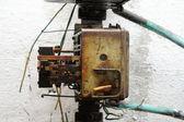 Ancient machine part — Stock Photo