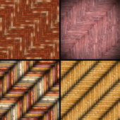 Wooden tiles backgrounds — Stock Photo