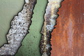 Collection of weathered textures — Stock Photo