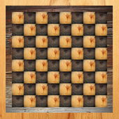 Abstract chess table — Stockfoto