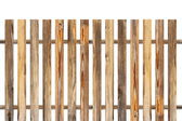 Wood fence made from old planks — Stock Photo