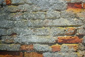 Abstract grunge red brick wall — Zdjęcie stockowe
