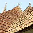 View of traditional church roof — Stock Photo
