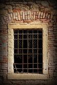 Zabytkowe okno — Zdjęcie stockowe