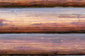 Exterior beams on wooden lodge — Стоковое фото