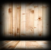 Interior spruce planks wood backdrop — Stock Photo