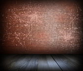 Rusty scratched interior backdrop — Stock Photo