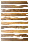 Damaged wooden planks — Stock Photo
