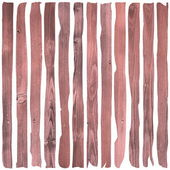 Reddish wooden planks — Stock Photo