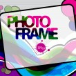 Vector photo frame — Stock Vector