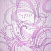 Retro floral bright background for vintage design — Stock Vector