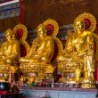 Buddhist Statues in Chinese Temple Thailand — Stock Photo #41258795