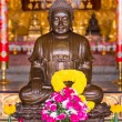Buddhist Statues in Chinese Temple Thailand — Stock Photo