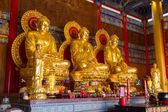 Statue buddiste in cinese tempio thailandia — Foto Stock