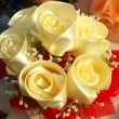 Stock Photo: Artificial roses