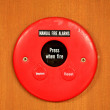 Fire alarm signal — Stock Photo #41263419