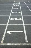 Athletics — Stockfoto