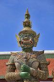 BANGKOK THAILAND - JAN 03 : Demon Guardian Wat Phra Kaew Grand P — Stock Photo