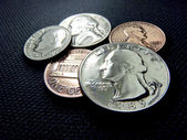 US Coins collection — Foto Stock