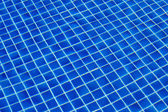Blue ripped water in swimming pool — Zdjęcie stockowe