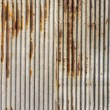 Stock Photo: Zinc rust wall background