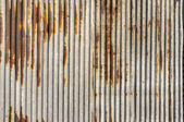 Zinc rust wall background — Stock Photo