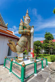 Demon Guardian at wat Arun in Bangkok Thailand — Foto de Stock