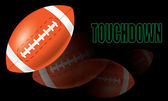 American Football Touchdown vector — Stock Vector